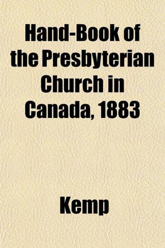 9781152546790: Hand-Book of the Presbyterian Church in Canada, 1883