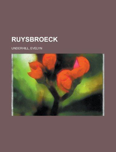 Ruysbroeck: Evelyn Underhill