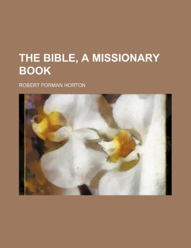 9781152871137: The Bible, a missionary book