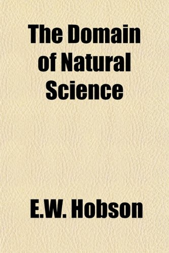 9781152887329: The Domain of Natural Science