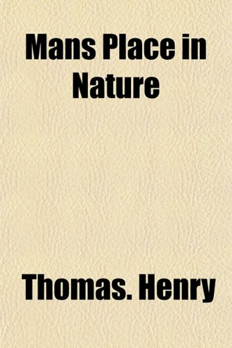 Mans Place in Nature (1153014017) by Thomas. Henry