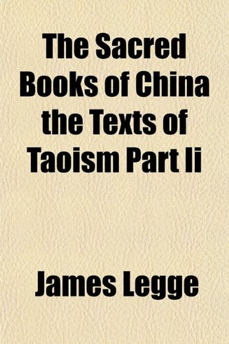 9781153145992: The Sacred Books of China the Texts of Taoism Part Ii