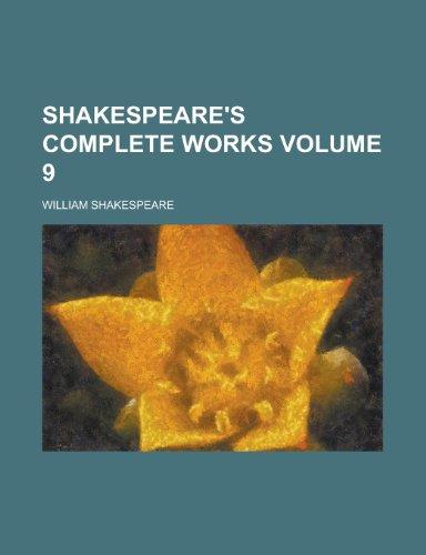 9781153151467: Shakespeare's Complete Works (Volume 1)