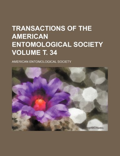 9781153184861: Transactions of the American Entomological Society Volume т. 34