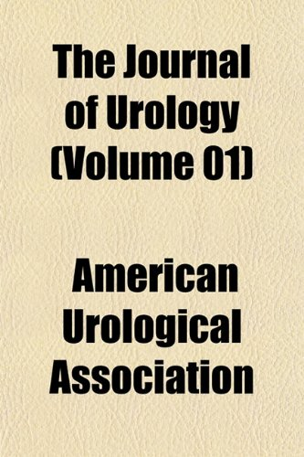 9781153260824: The Journal of Urology (Volume 01)