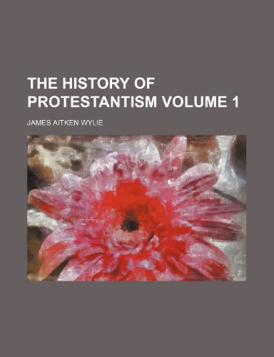 9781153348263: The history of Protestantism Volume 1