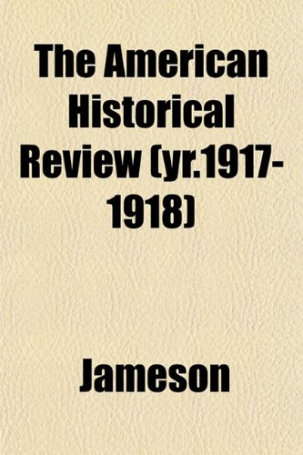 9781153351201: The American historical review Volume 4