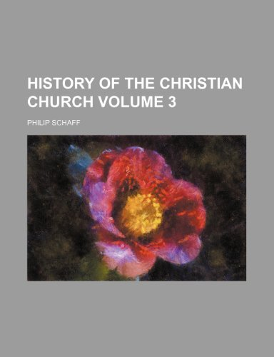9781153383271: History of the Christian church Volume 3