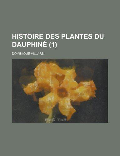 9781153543491: Histoire Des Plantes Du Dauphine (1 )