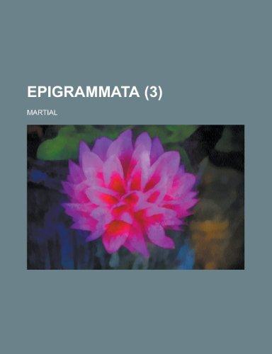 9781153559119: Epigrammata (3)