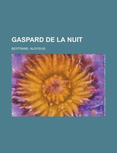 9781153623988: Gaspard de La Nuit (French Edition)