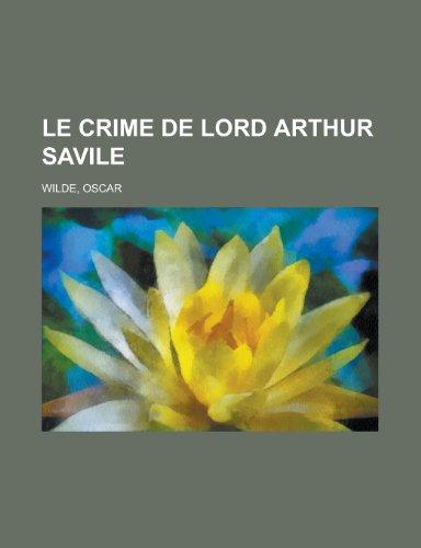 9781153636810: Le Crime de Lord Arthur Savile