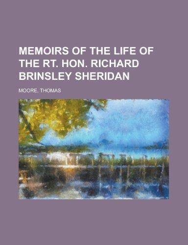 9781153641371: Memoirs of the Life of the Rt. Hon. Richard Brinsley Sheridan - Volume 02