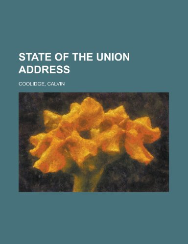 9781153688895: State of the Union Address