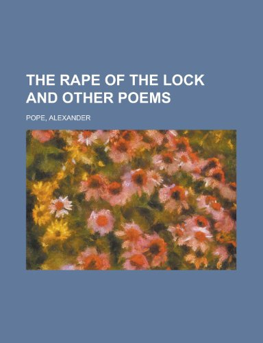 9781153718493: The Rape of the Lock and Other Poems