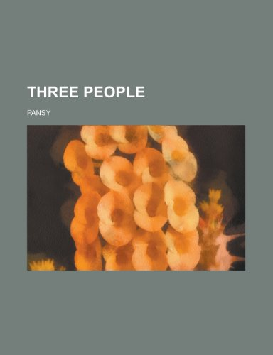 Three People (9781153756884) by Pansy