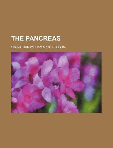 9781153770477: The Pancreas