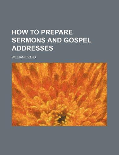 9781153779517: How to Prepare Sermons and Gospel Addresses