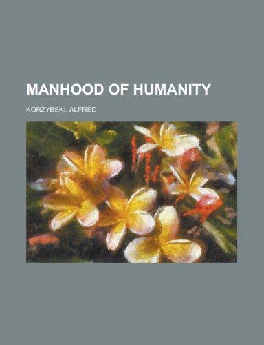 9781153790482: Manhood of Humanity
