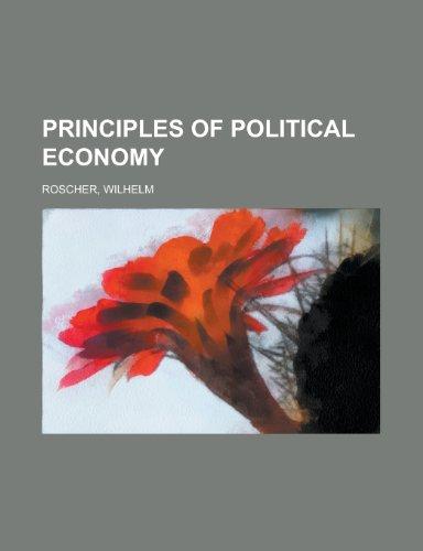 9781153806664: Principles of Political Economy