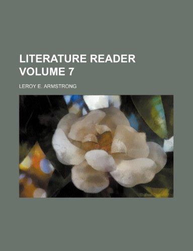 9781153852098: Literature reader Volume 7