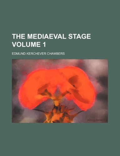 9781153890878: The mediaeval stage Volume 1
