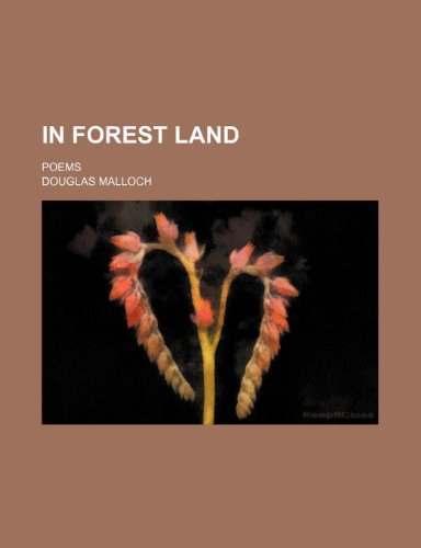9781153924566: In Forest Land; Poems