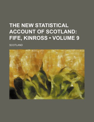 The New Statistical Account of Scotland: Books, General