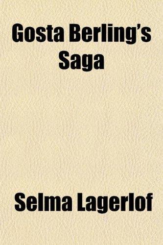 9781154356472: Gosta Berling's Saga