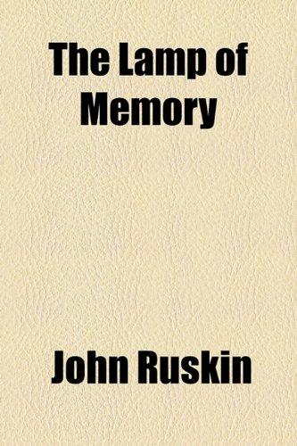 9781154583854: The Lamp of Memory