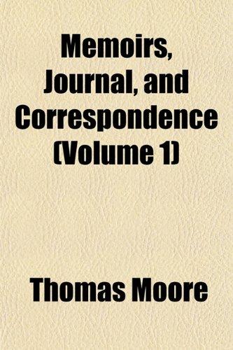 9781154782844: Memoirs, Journal, and Correspondence (Volume 1)