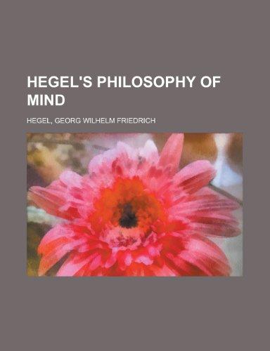 Hegel's Philosophy of Mind (1154812464) by Georg Wilhelm Friedrich Hegel