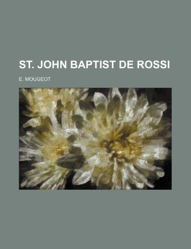 9781154857535: St. John Baptist de Rossi