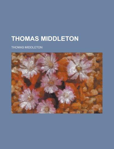 9781155061818: Thomas Middleton