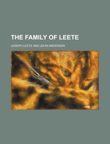 9781155070841: The family of Leete