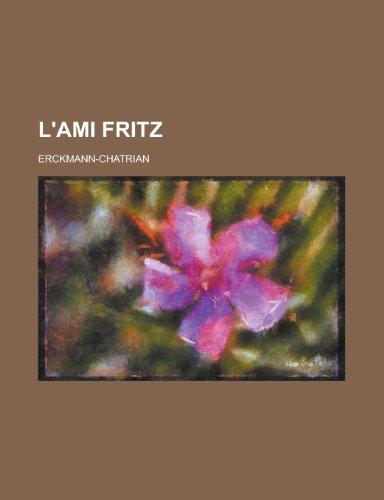 9781155132938: L'Ami Fritz