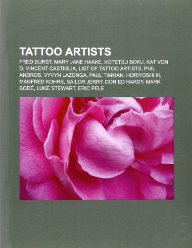 Tattoo artists: Source
