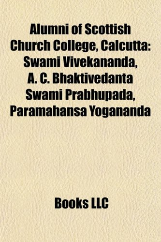 Alumni of Scottish Church College, Calcutta: Swami: Source Wikipedia