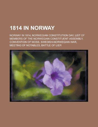 1814 in Norway: Norway in 1814, Norwegian Constitution Day, List of Members of the Norwegian ...