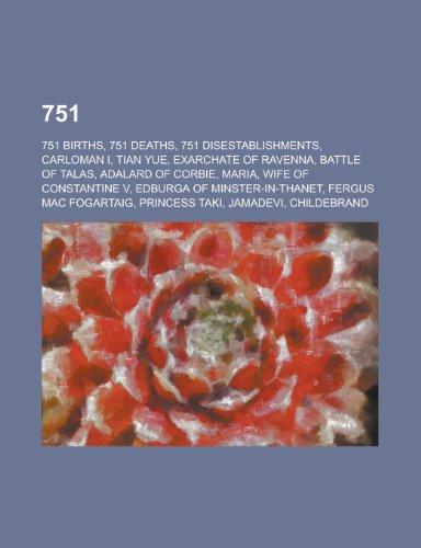 9781156002858: 751: Battle of Talas,