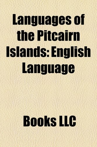 9781156184394: Languages of the Pitcairn Islands