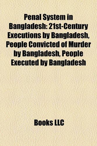 9781156337622: Penal System in Bangladesh