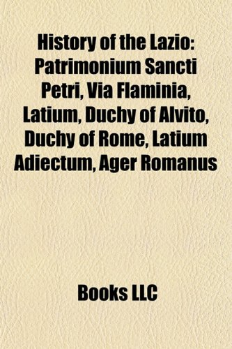 9781156497142: History of the Lazio