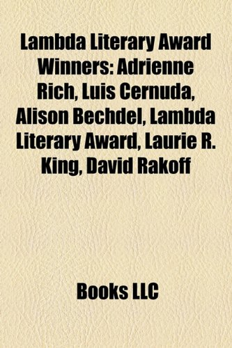 9781156516287: Lambda Literary Award Winners: David Rakoff