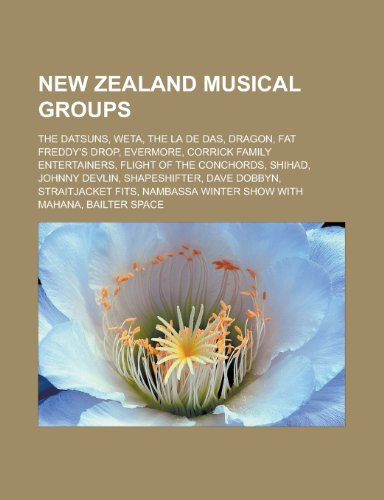 New Zealand musical groups: Source
