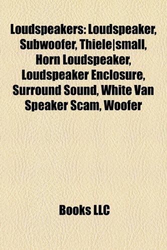 07d2328dfba1 9781156726402  Loudspeakers  Loudspeaker