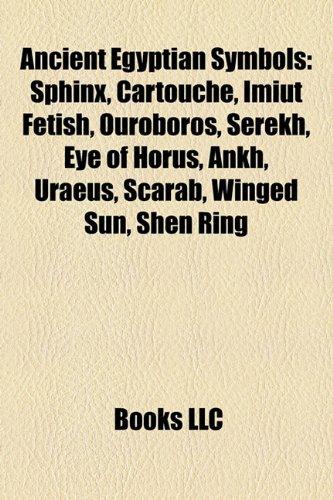 9781156737033 Ancient Egyptian Symbols Sphinx Cartouche Imiut