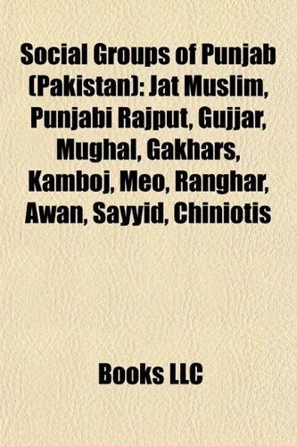 9781156742044: Social groups of Punjab (Pakistan): Jat
