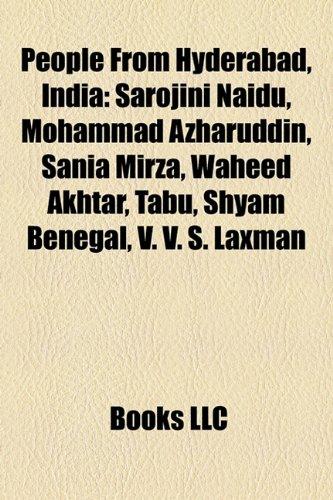 9781156751732: People from Hyderabad, India: Sarojini Naidu