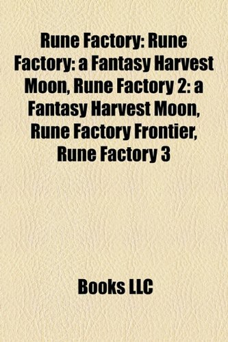 9781156898130: Rune Factory